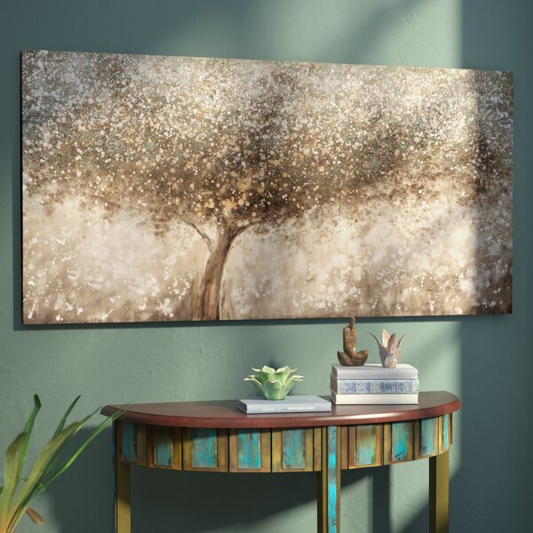 Oil Painting Print on Wrapped Canvas by World Menagerie