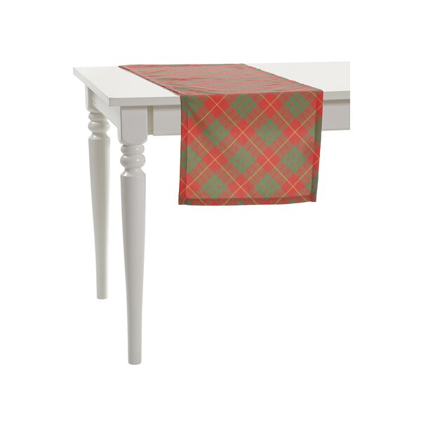 Plaid Table Runner by Debage Inc.