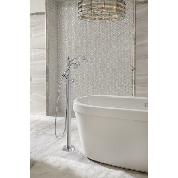 Cassidy Floor Mount Tub Filler by Delta