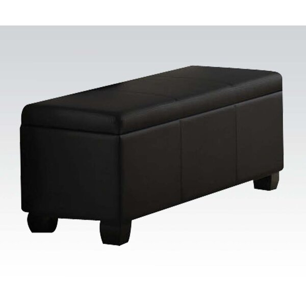 Belfort Upholstered Storage Bench by Latitude Run
