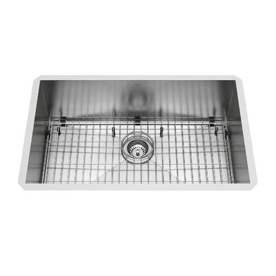 30 L X 19 W Undermount Kitchen Sink With Strainer