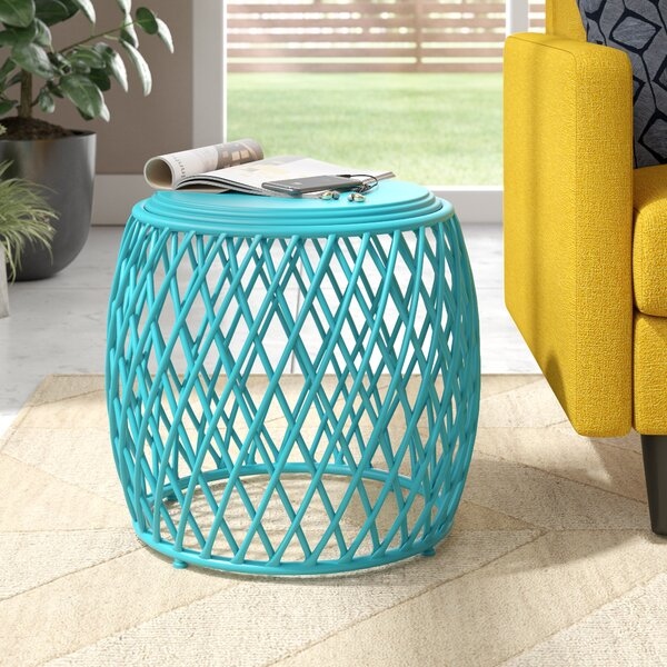 Milano Indoor Iron End Table By Wrought Studio
