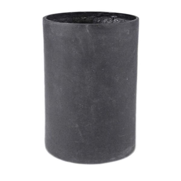Modular Cylinder Resin Stone Pot Planter by Amedeo Design