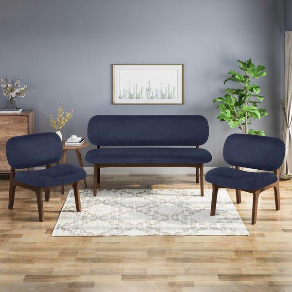 Bohl 3 Piece Living Room Set by Corrigan Studio