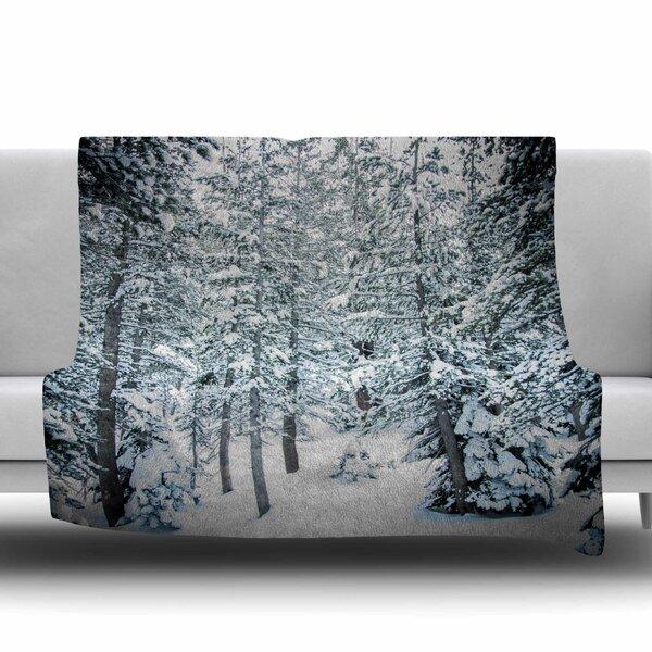 Winter Trials by Juan Paolo Fleece Blanket by East Urban Home