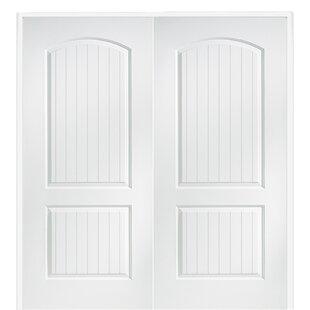 Santa Fe MDF 2 Panel Prehung Interior Door