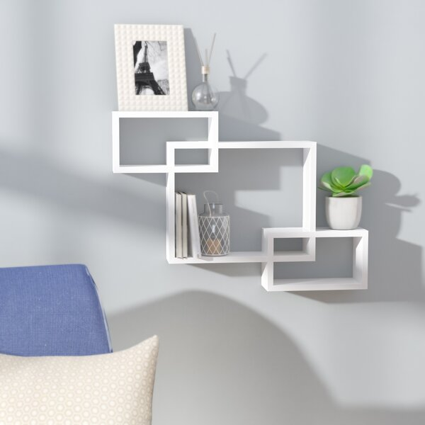 3 Intersecting Wall Shelf by Brayden Studio