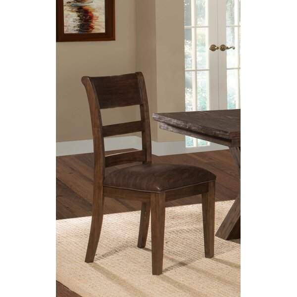 Burnsdale Upholstered Dining Chair (Set of 2) by Loon Peak