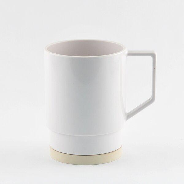 Rex Nesting Melamine Coffee Mug (Set of 4) by Langley Street