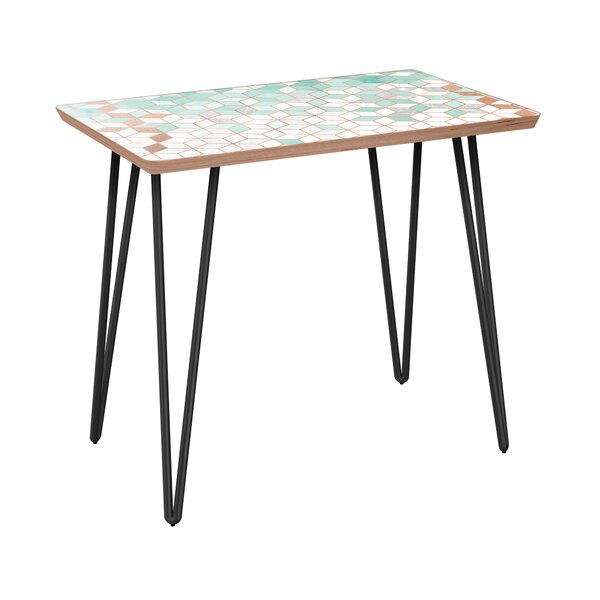 Locke End Table by Bungalow Rose Bungalow Rose