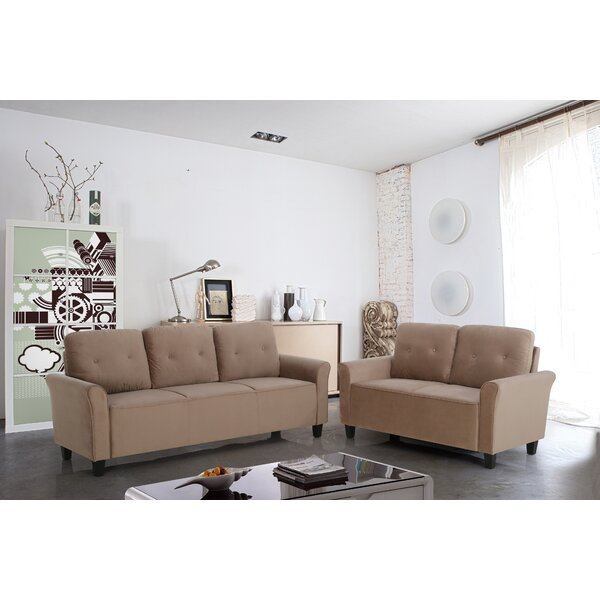 Schermerhorn 2 Piece Living Room Set by Charlton Home