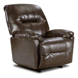 Gennessee Leather Manual Recliner by dCOR design