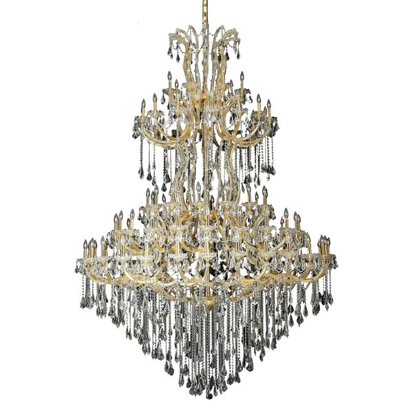 Regina 85 - Light Candle Style Tiered Chandelier by House of Hampton House of Hampton