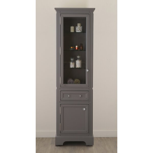Margene 21 W x 72 H Linen Tower