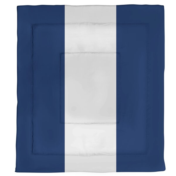 Edmonton Hockey Single Reversible Comforter