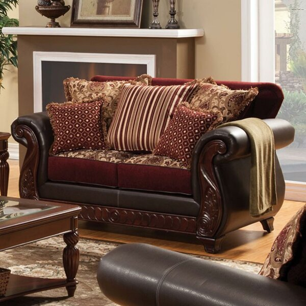 Aziz Regal loveseat by Astoria Grand