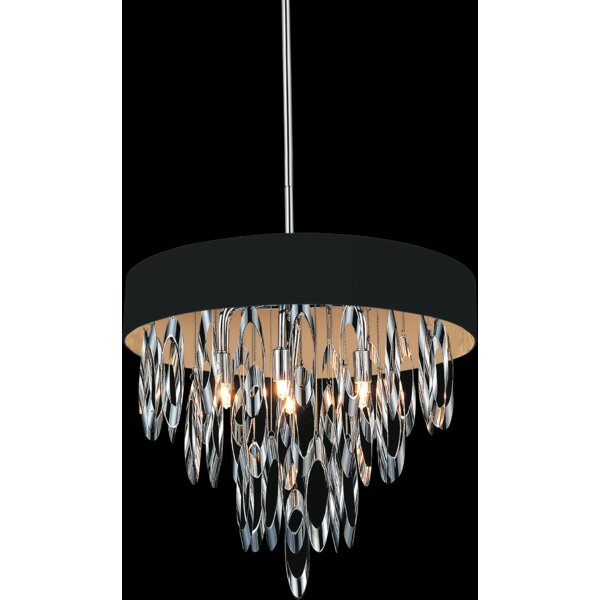 Baysinger 6-Light Unique / Statement Tiered Chandelier By House Of Hampton