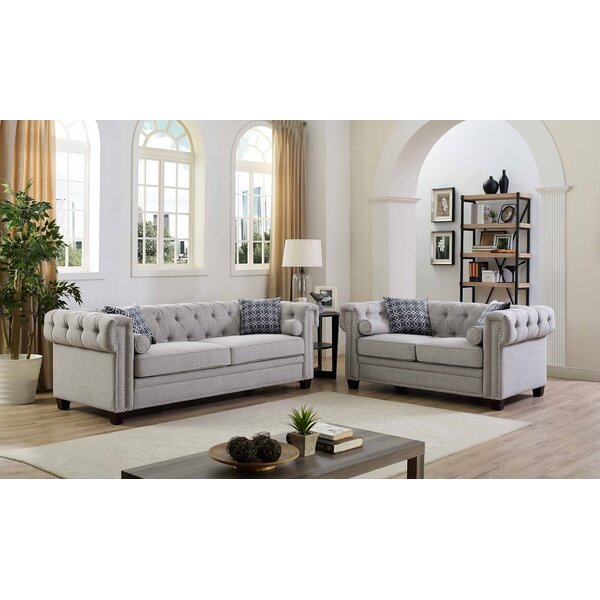 Best #1 Connelly 2 Piece Living Room Set  By Alcott Hill Reviews