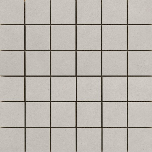 Perspective Pure 12 x 12 Porcelain Mosaic Tile in Ash by Emser Tile