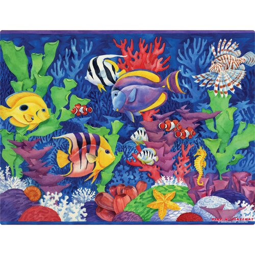 Tropical Fish Play Placemat by Magic Slice