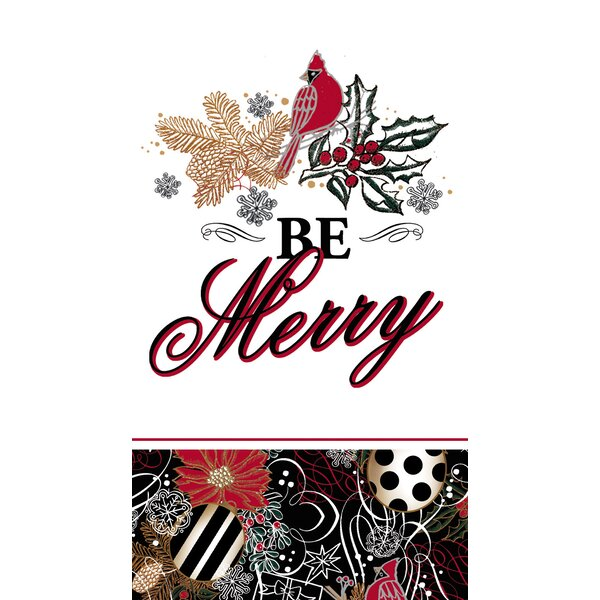 Bruno Be Merry Hand Towel (Set of 15) by The Holiday Aisle