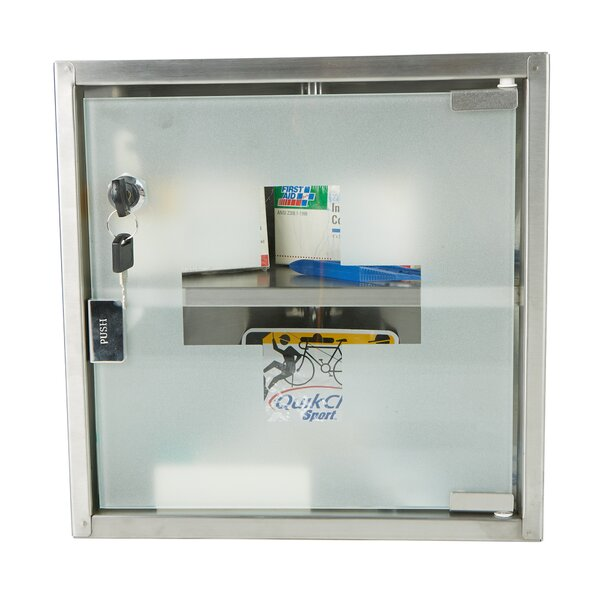 11.87 x 11.87 Surface Mount Medicine Cabinet by Mind Reader