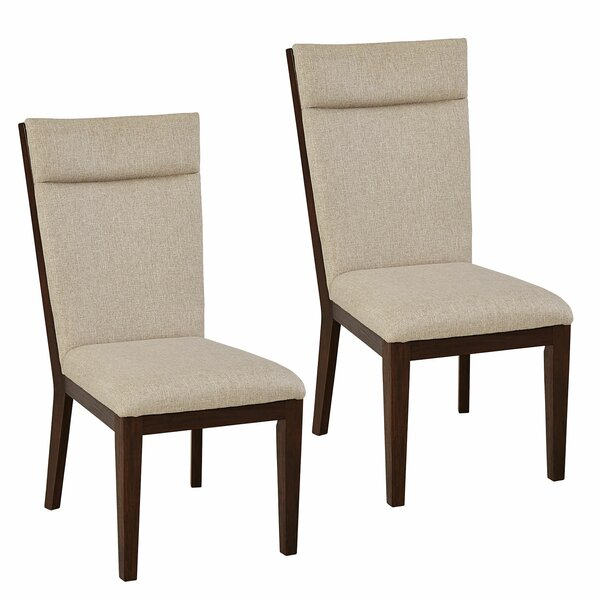 Poppe Upholstered Dining Chair (Set of 2) by Union Rustic