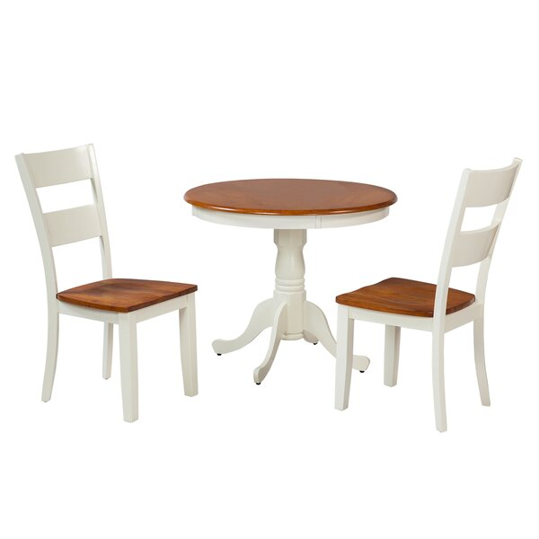 Kimberley 3 Piece Dining Set by TTP Furnish