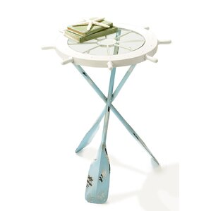 Boone Ships Ahoy End Table by Longshore Tides