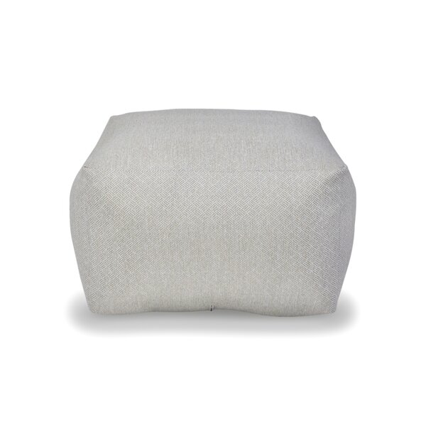 Spear Square Pouf by The 1st Chair