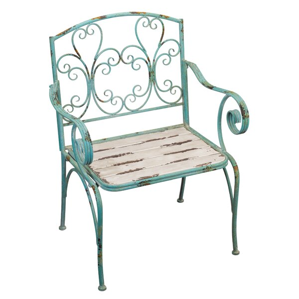 Fleur de Lis Patio Chair by Regal Art & Gift