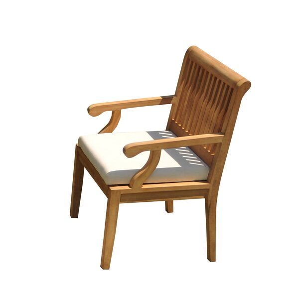 Sack Folding Teak Patio Dining Chair by Teak Smith