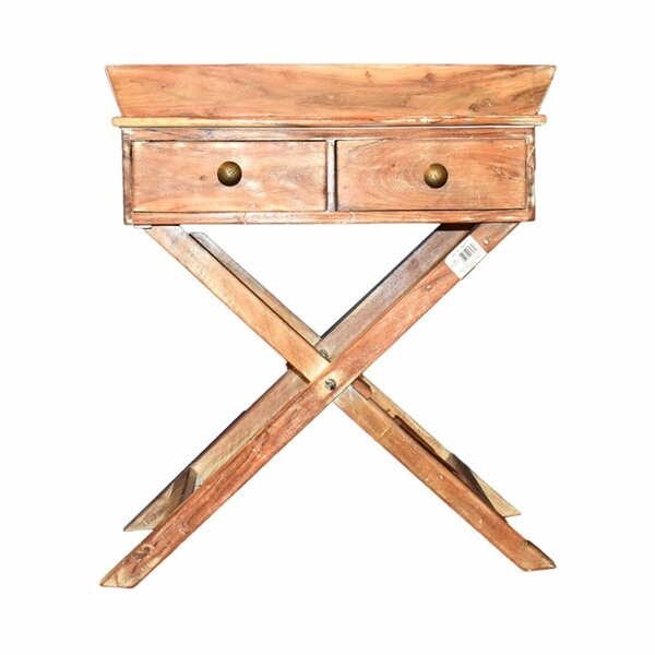 Wozniak Sturdy Wooden End Table with Storage by Millwood Pines