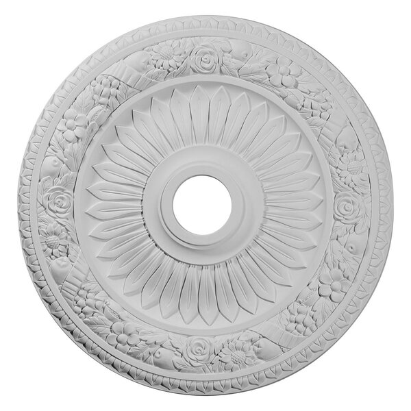 Bellona 1/25H x 23 5/8W x 1 1/8D Ceiling Medallion by Ekena Millwork