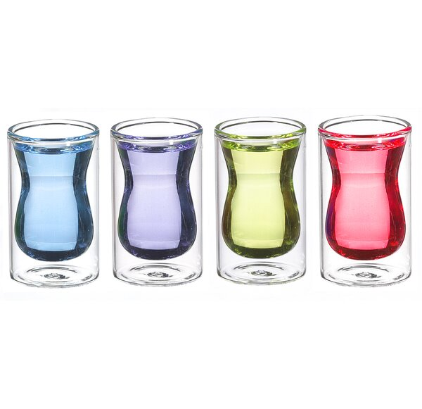 Istanbul Shot Glass (Set of 4) by Grosche