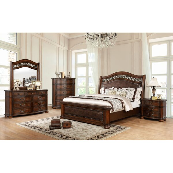 Laguna Sleigh Configurable Bedroom Set by Darby Home Co