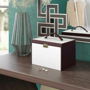 Savings 3 Drawers Rectangle Jewelry Box ByWilla Arlo Interiors