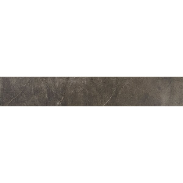 Rowe Plank 8 x 48 Porcelain Field Tile in Midnight by Itona Tile