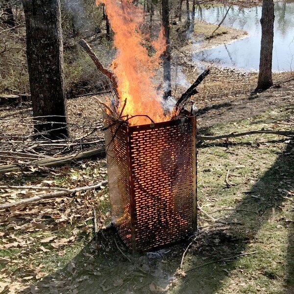 Sportsman Steel Fire Ring by Pro-Series