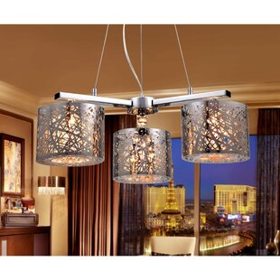 Price comparison 3-Light Sputnik Chandelier By Warehouse of Tiffany