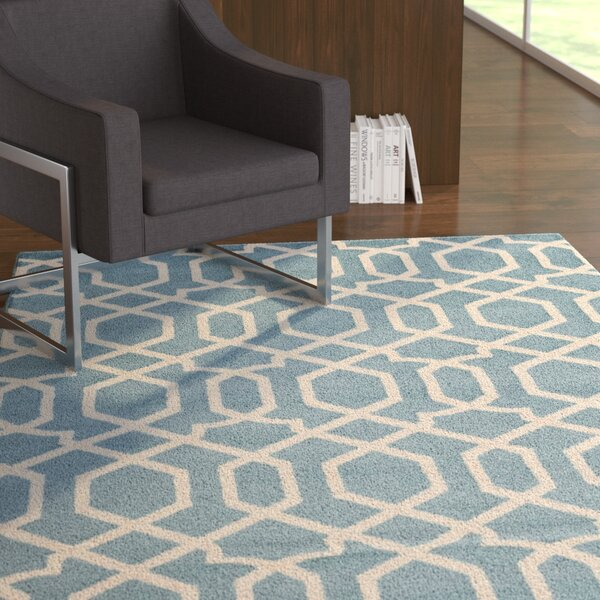 Eudora Blue Area Rug by Zipcode Design