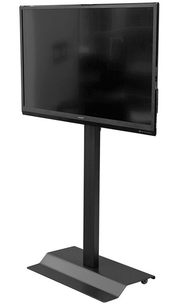 Mobile Display Tilted Floor Stand Mount 42-60 by VFI