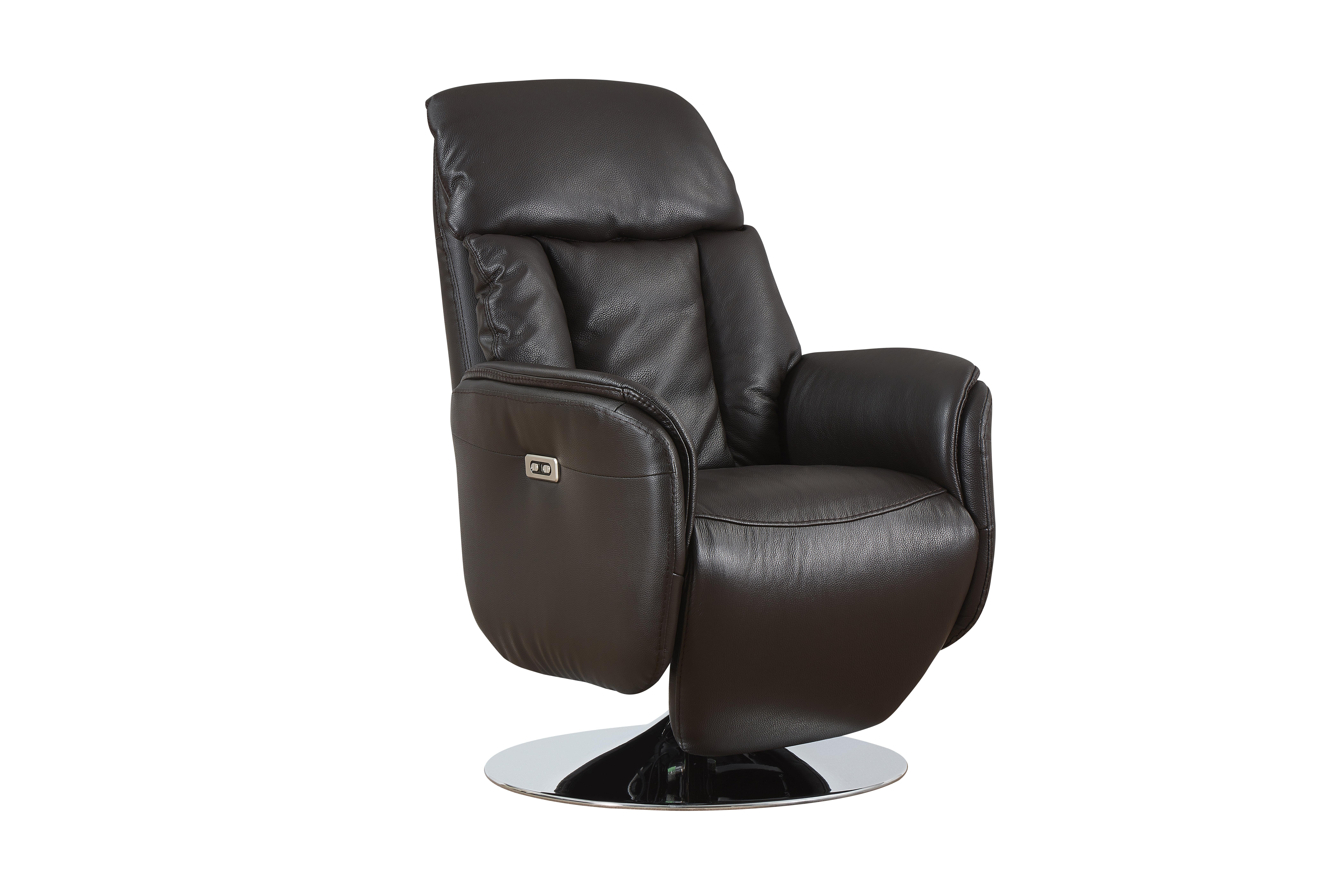 Orren ellis tyshawn leather power recliner wayfair