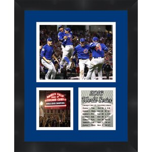 World Series 'Chicago Cubs 2016' Framed Memorabilia by Frames By Mail