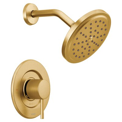 Shower Faucet Brushed Gold photo