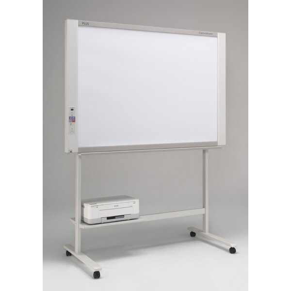2 Panel Capture Board Free-Standing Reversible Interactive Whiteboard by Plus Boards