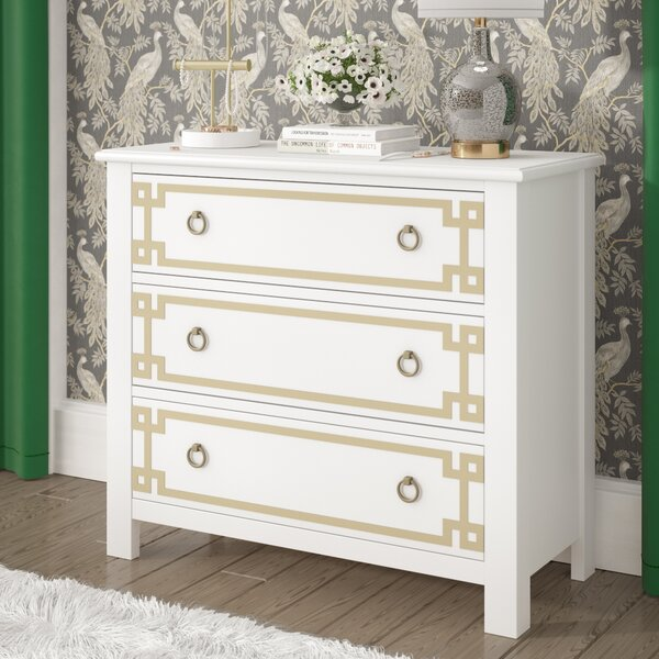 Dipasquale Overlay 3 Drawer Accent Chest by Willa Arlo Interiors