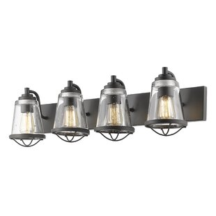 Affordable Crowder 4-Light Vanity Light By Breakwater Bay