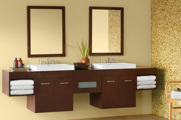 Bella 95 Double Bathroom Vanity Set