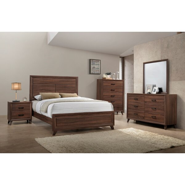 Lusk Panel Configurable Bedroom Set by Union Rustic